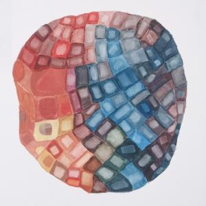 acryl / paper, 50 x 50 cm