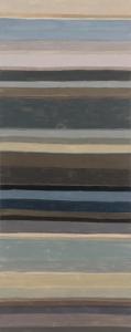 """Het IJ""-05.08.2015, acryl/canvas, 80 x 200"